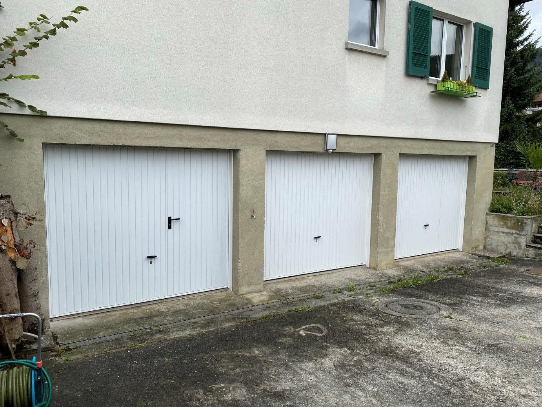 Lauperdorf Garagen Tore Kipptor mit Servicetüre